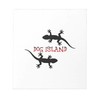 Dog Island Florida. Notepad