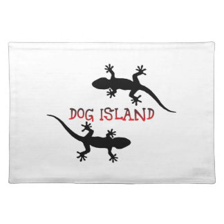 Dog Island Florida. Placemat