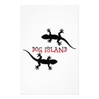 Dog Island Florida. Stationery