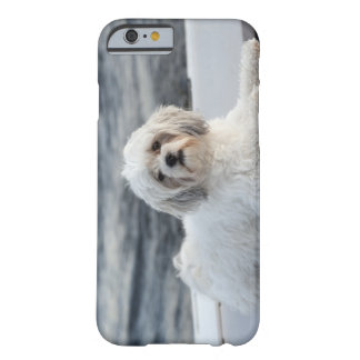 Dog laying by the water barely there iPhone 6 case