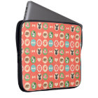 Dog Love on Coral Laptop Sleeve