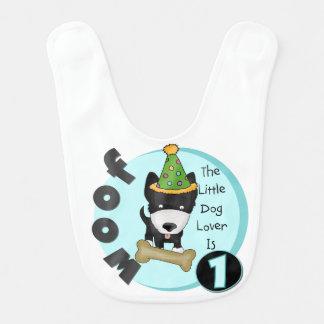 Dog Lover 1st Birthday Bib