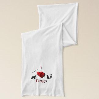 Dog Lover Custom Design Scarf