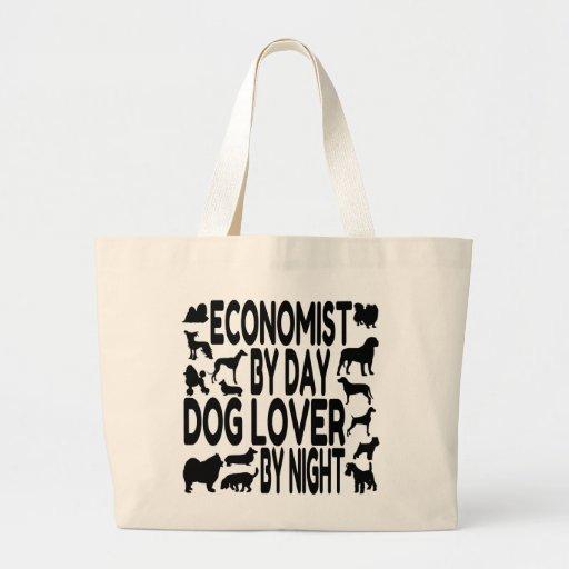 Dog Lover Economist Canvas Bag