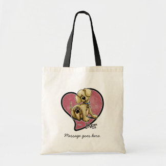 Dog Lover - Heart Tote Bag