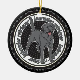 Dog Lover Labrador Retriever Dog Ceramic Ornament