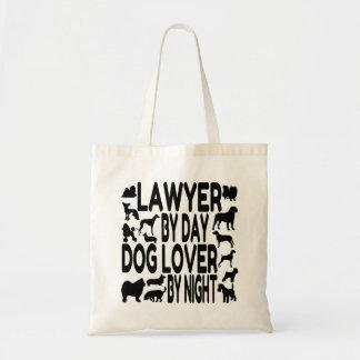 Dog Lover Lawyer Budget Tote Bag