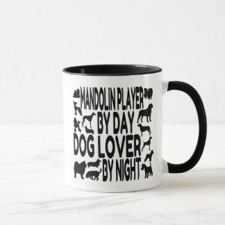 Dog Lover Mandolin Player Mug