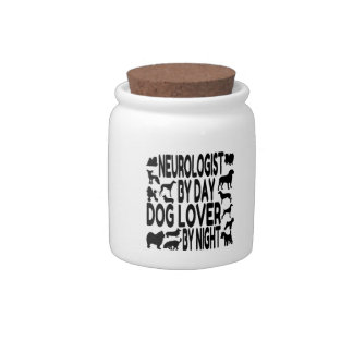 Dog Lover Neurologist Candy Dish