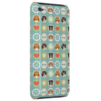 Dog Lover Pattern Barely There iPod Covers