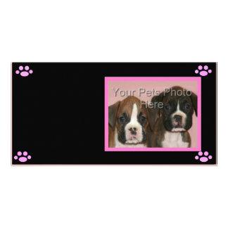 Dog Lover Photocard Photo Greeting Card