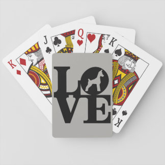 Dog Lover Playing Cards, Standard Index Faces Playing Cards