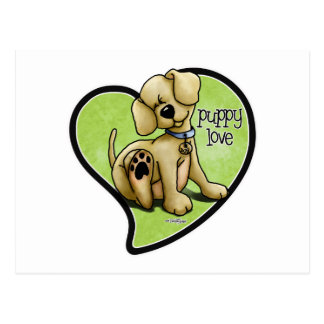 Dog Lover - Puppy Love Postcard