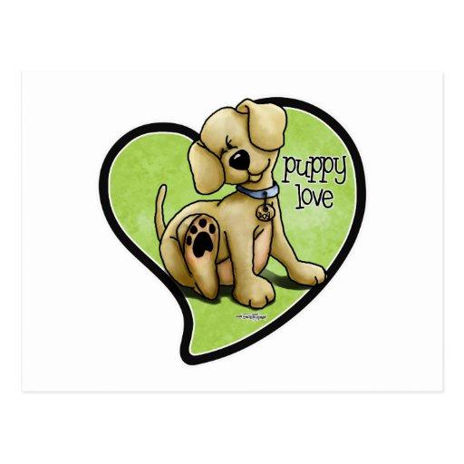 Dog Lover - Puppy Love Postcard
