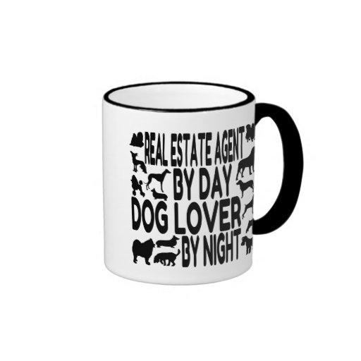 Dog Lover Real Estate Agent Mugs