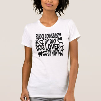 Dog Lover School Counselor T-Shirt
