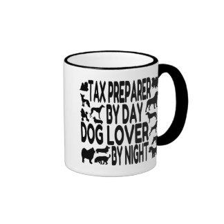 Dog Lover Tax Preparer Ringer Mug