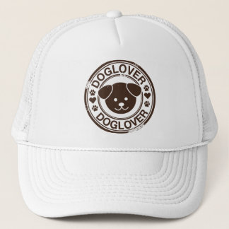 Dog Lover with puppy face Trucker Hat