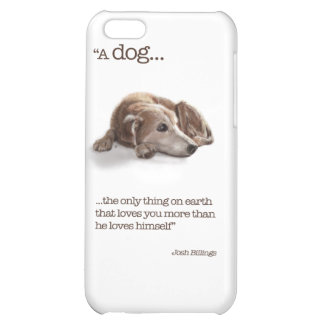 """Dog Lovers, """"Missing You!"""" iPhone 5C Cover"""