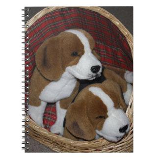Dog Lovers - Soft Toy Spiral Notebook