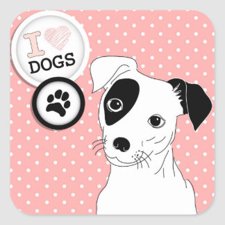 Dog Lovers Stickers