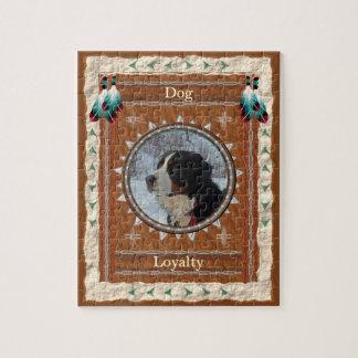 Dog  -Loyalty- Jigsaw Puzzle w/ Box