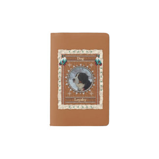 Dog  -Loyalty- Notebook Moleskin Cover