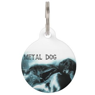 Dog mark large pet ID tag