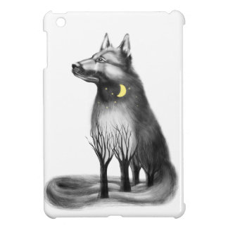 Dog - mascot, graphics. iPad mini covers