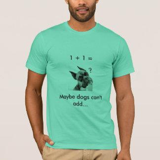 Dog Math T-Shirt