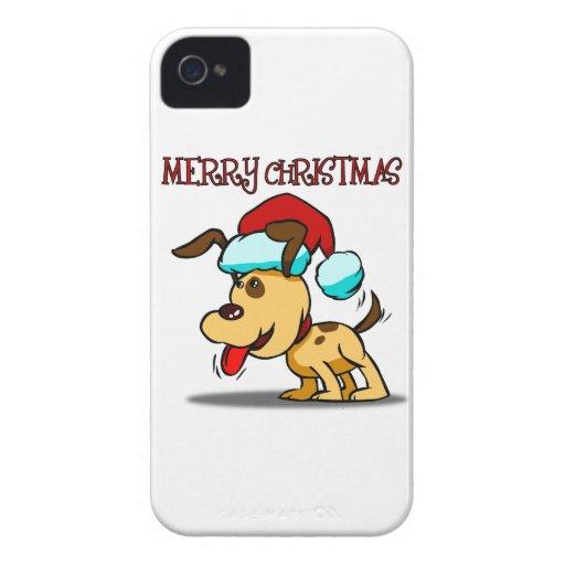 Dog Merry Christmas Blackberry Phone Case Blackberry Bold Cover