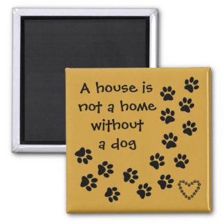 dog message fridge art magnet
