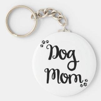 Dog Mom Key Ring