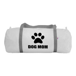 Dog Mom Paw Gym Bag