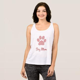Dog Mom Style Cursive Singlet