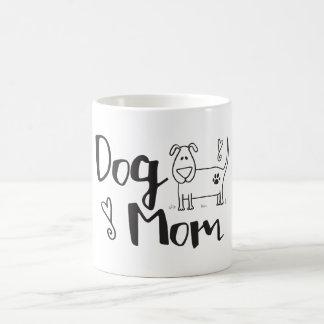 Dog Mom With A Cute Pup Coffee Mug