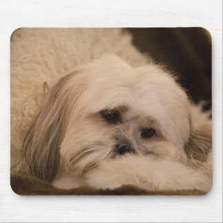 Dog Mouse Mat, Lhasa Apso Mouse Pad
