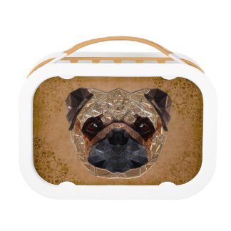 Dog Mozaic Lunch Box