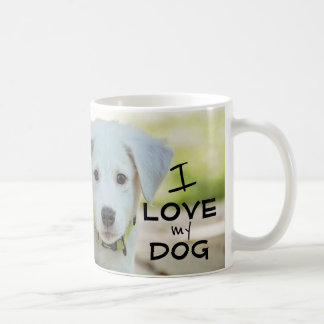 Dog Mug, I love my master Coffee Mug