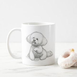 Dog mug: 'Woof bloomin woof.' Coffee Mug