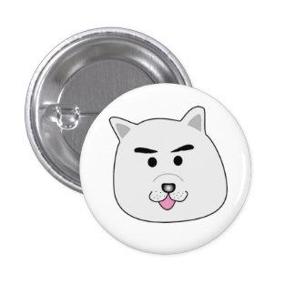 Dog of dog cat quiz 3 cm round badge