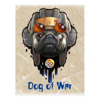 dog of war postcard