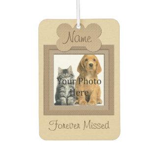 Dog or Cat Beige Framed Pet Memorial
