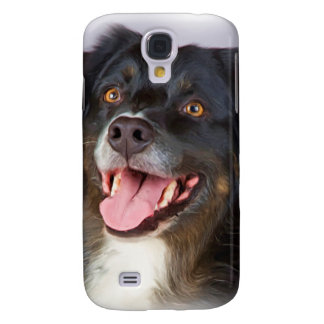 Dog painting - dog art - pet art samsung galaxy s4 covers