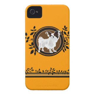 Dog Papillon iPhone 4 Case-Mate Cases