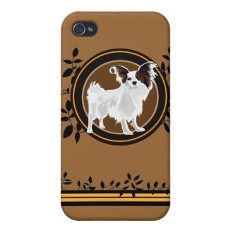 Dog Papillon Case For The iPhone 4