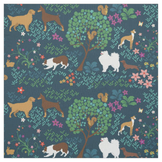 Dog Park by Breed Collection - Fabric