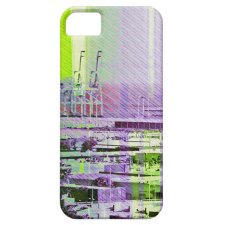 Dog patching Panorama in San francisco city iPhone 5 Cases