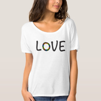 Dog Paw Love T-Shirt