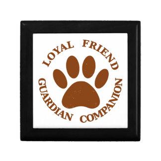 Dog Paw Loyal Friend Gift Box
